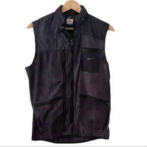 Nike Women's Windbreaker Vest with Hoodie